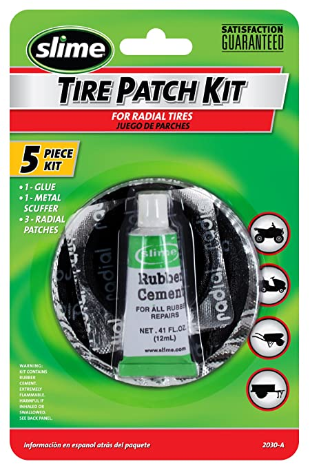 Amazon Slime 2030 A Tire Patch Kit With Glue Automotive