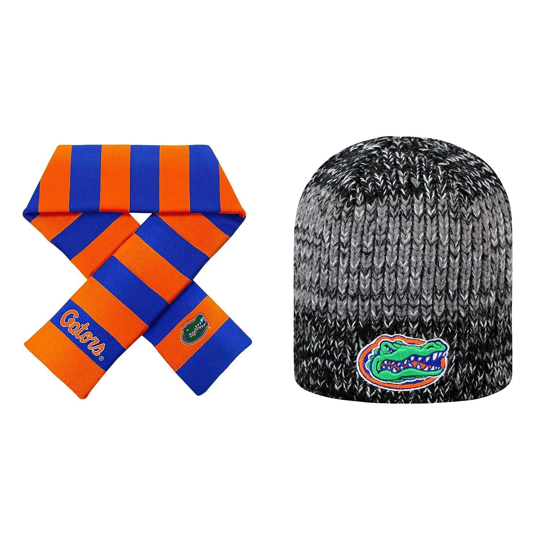 50%OFF NCAA Florida Florida Gators Gators Leewardビーニー帽子とストライプラグビースカーフ2パックバンドル NCAA B01MQHAX40, ねこねこにっと:78217cbc --- arianechie.dominiotemporario.com