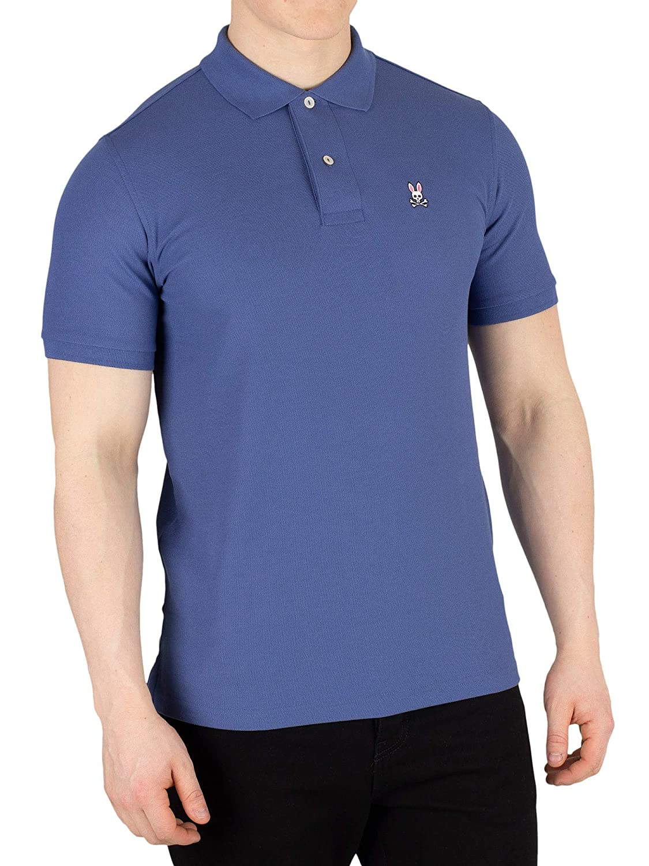 Psycho Bunny Mens Classic Poloshirt Blue