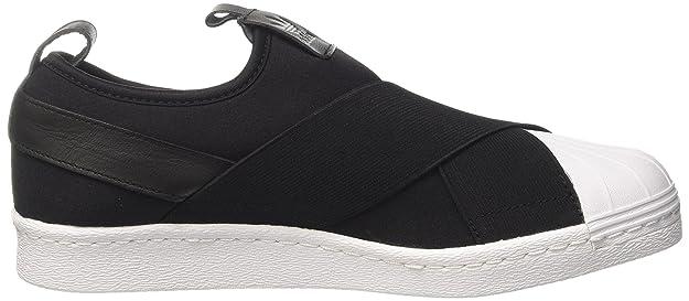 Adidas Men Originals BZ0112 Black Superstar Slip on Shoes