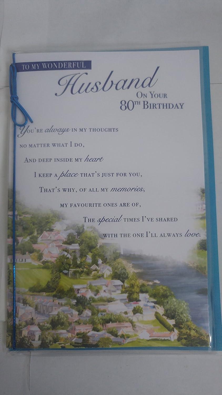 80TH BIRTHDAY HUSBAND
