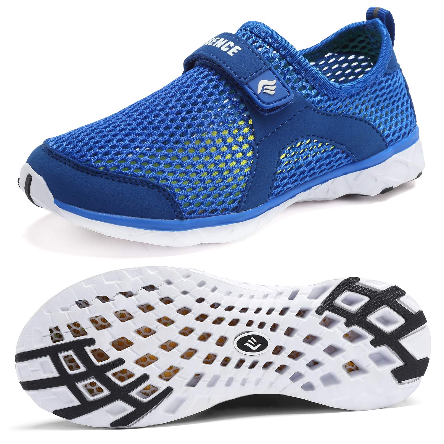 CIOR Boys & Girls Water Shoes Aqua Shoes Athletic Sneakers Lightweight Sport Shoes(Toddler/Little Kid/Big Kid)