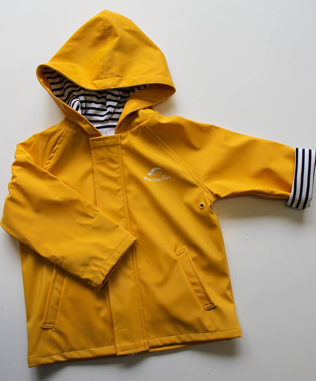 f6e4874121c6 Cute Baby Rain Jacket Infant Raincoat Toddler Rain Wear Yellow ...