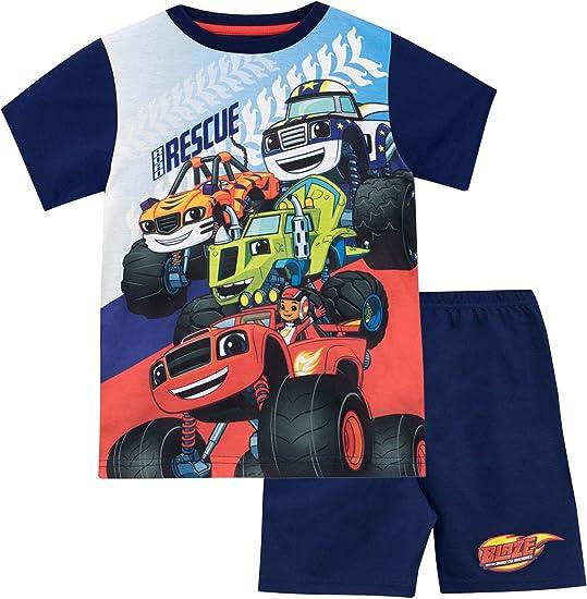 Blaze and the Monster Machines Pijama para Niños Blaze y Los Monster Machines: Amazon.es: Ropa y accesorios