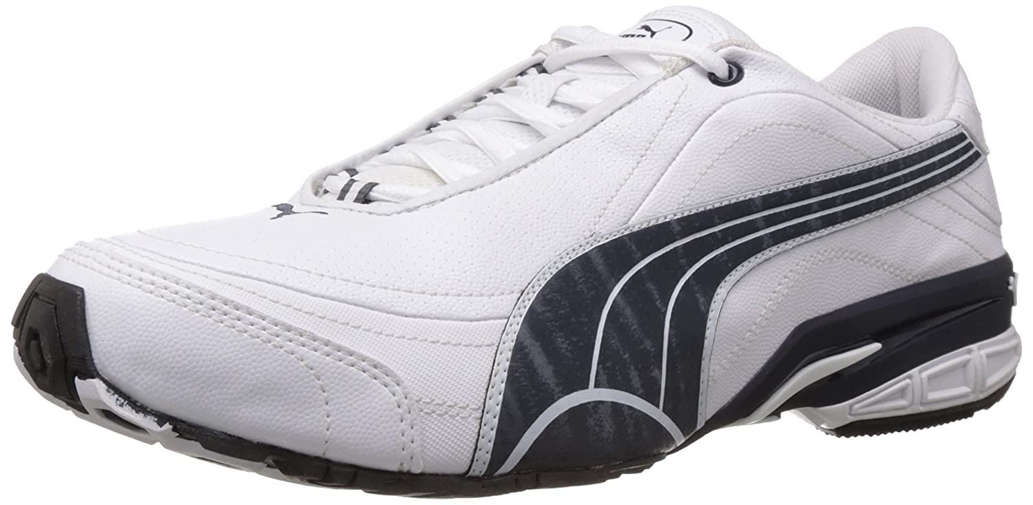 Puma Men's Tazon II DP White, New Navy and Puma Men's Silver Running Shoes  - 11 UK /India(46EU): Buy Online at Low Prices in India - Amazon.in