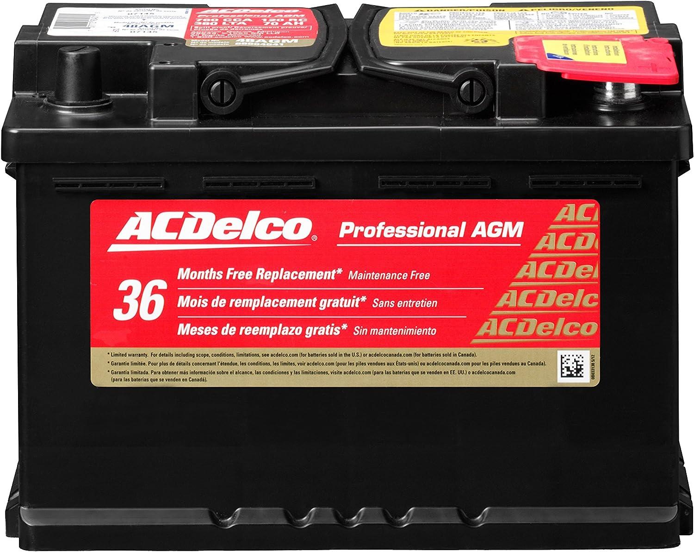 ACDelco 48AGM Professional AGM Automotive BCI Group 48 Battery: Automotive