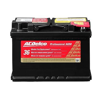 ac delco car battery walmart  Amazon.com: ACDelco 48AGM Professional AGM Automotive BCI Group 48 ...