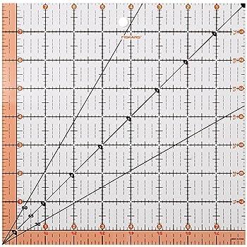 Fiskars Square Acrylic Quilting Ruler