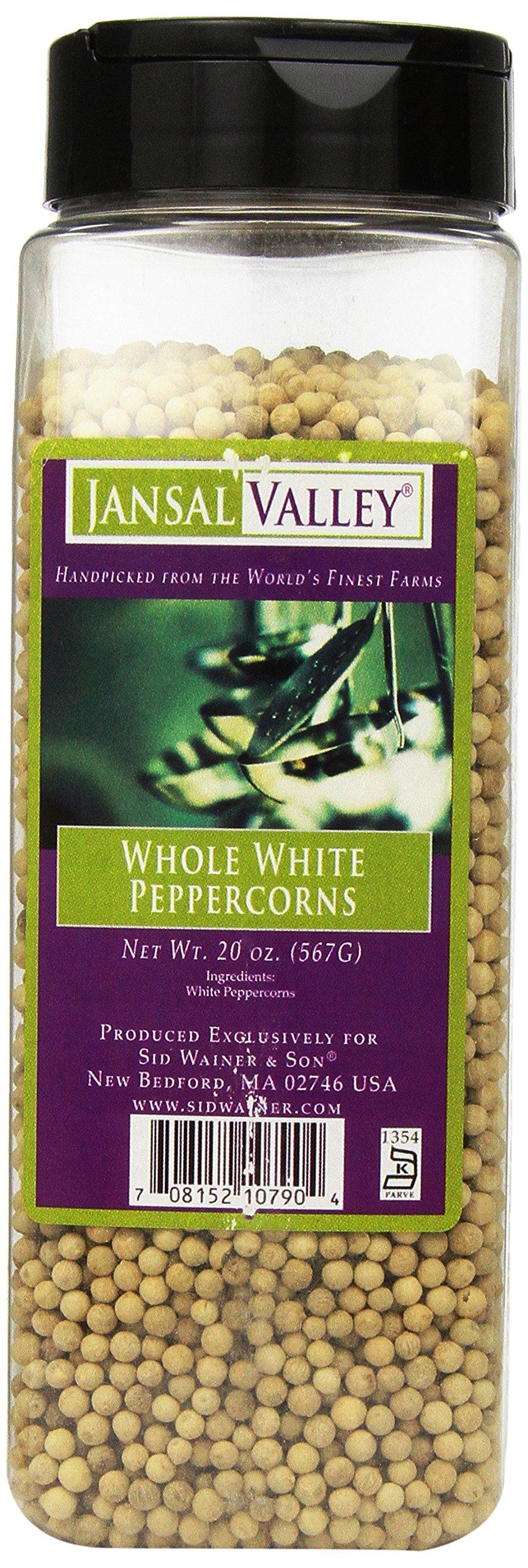 Jansal Valley White Peppercorns, 20 Ounce