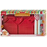 Handstand Kitchen Gingerbread House 5-piece Real Baking Set with Recipes for Kids