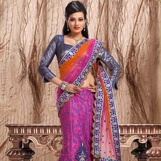 Lehenga Sarees Designs For Indian Girls Vol 3