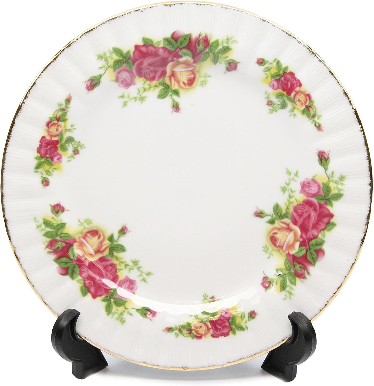Amazon Com Royalty Porcelain Set Of 6 Dinner Plates Vintage