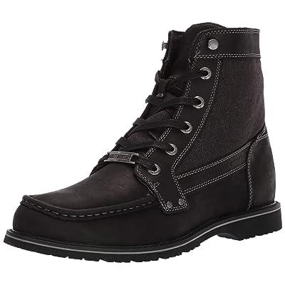 HARLEY-DAVIDSON FOOTWEAR Men's Dowling Motorcycle Boot, Black, 10.5 M US | Motorcycle & Combat