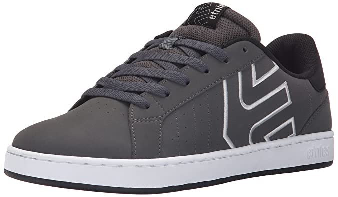 Etnies Fader LS, Chaussures de Skateboard Homme, Gris (Dark Grey/Black/White 029), 41 EU