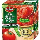 キッコーマン食品 完熟カットトマト 340g×12個