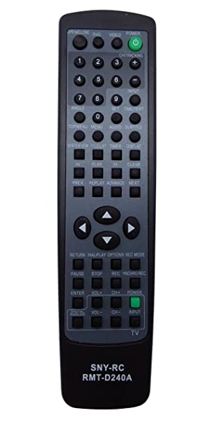 New Replaced Remote RMT-D240A For Sony RDR-VX525 RDR-VX555 RDR-VXD655 SDR-VX525