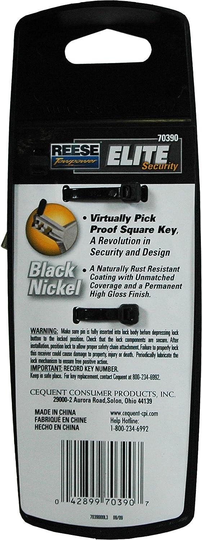 Reese Towpower 7039000 Elite Receiver Lock