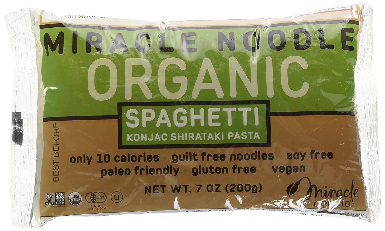 Miracle Noodle Organic Spaghetti Noodle, 7 oz