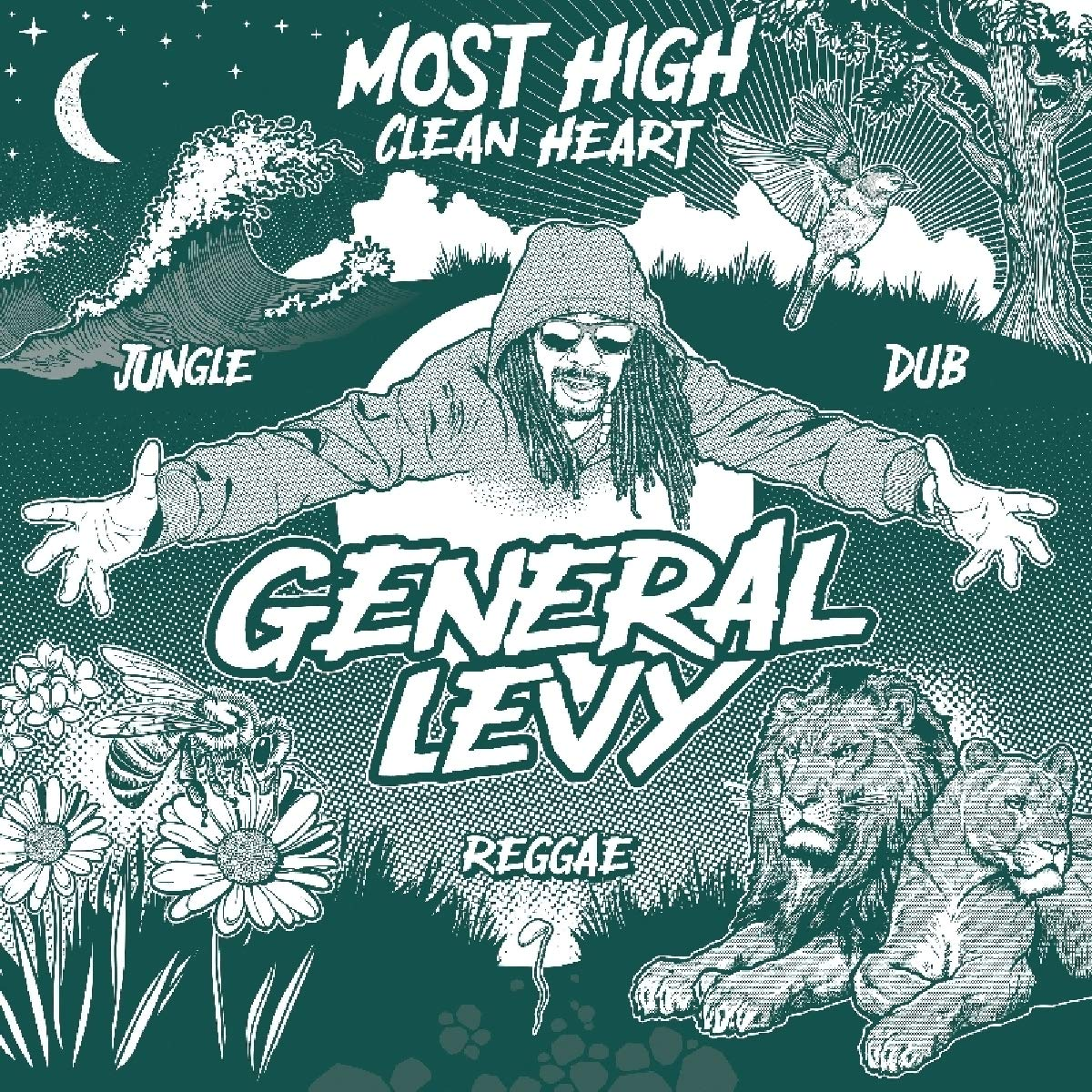 Vinilo : General Levy - Most High (clean Heart) (Australia - Import)