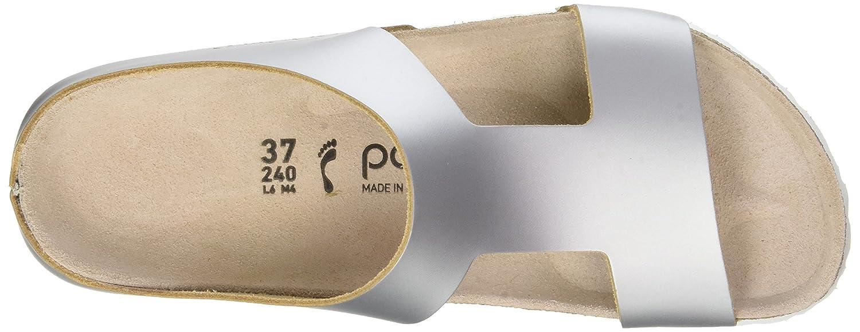 Papillio Damen Charlize Sandalen, schwarz Grau (Frosted (Frosted (Frosted Metallic Silver Frosted Metallic Silver) 63280e