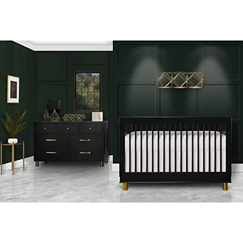 Evolur Loft Art Deco 3-in-1 Convertible Crib