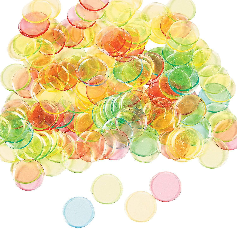 Fun Express Toys 144 Pieces Games Carnival /& Bingo Bingo Chips