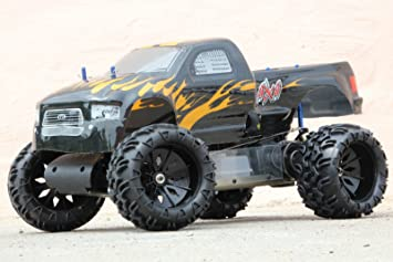 Modellbau Verbrenner Starten ~ Rc mega monster truck ccm ps km h cm verbrenner