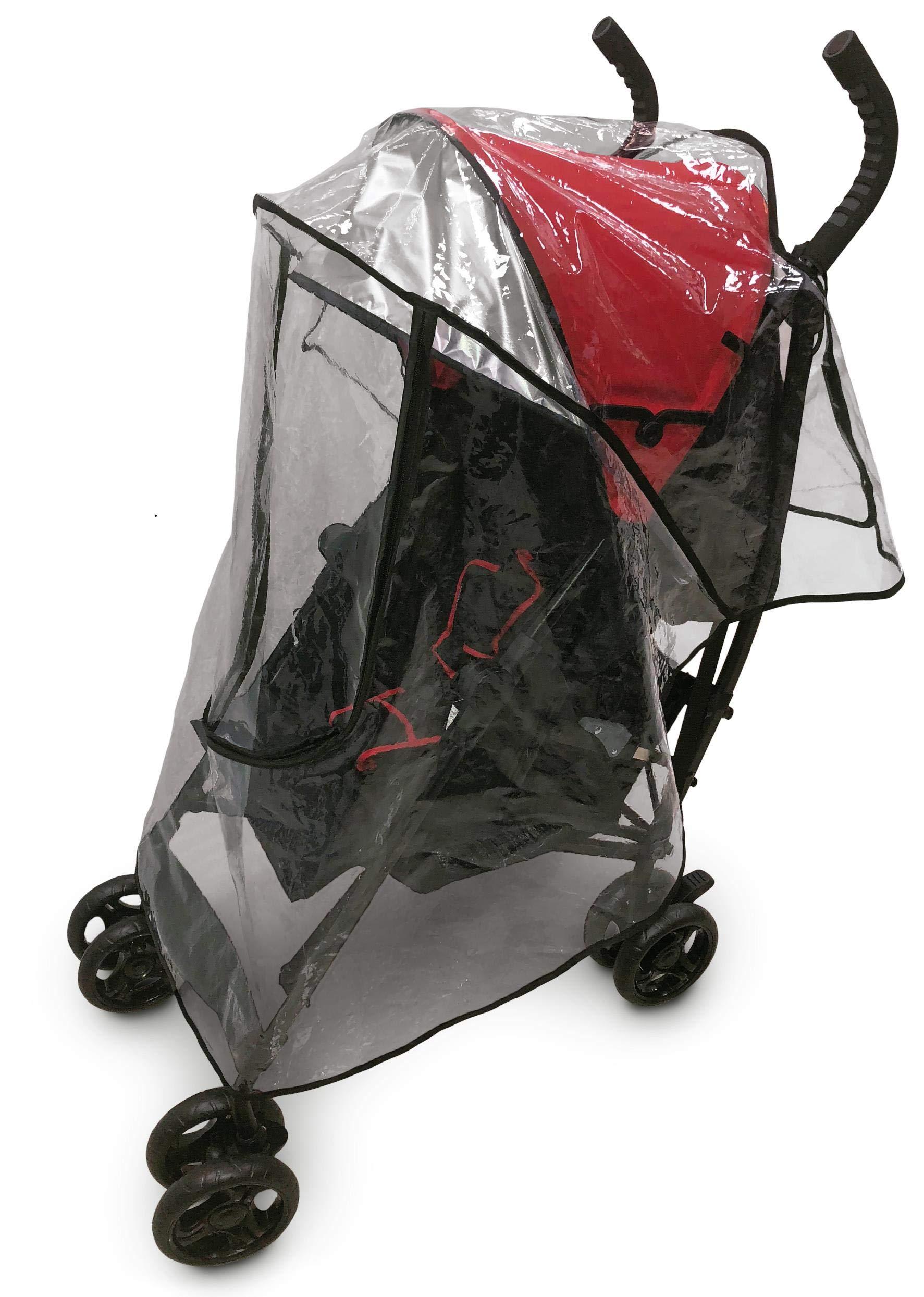 Primo Passi Umbrella Stroller Rain Cover | Weather Shield Universal Clear by Primo Passi