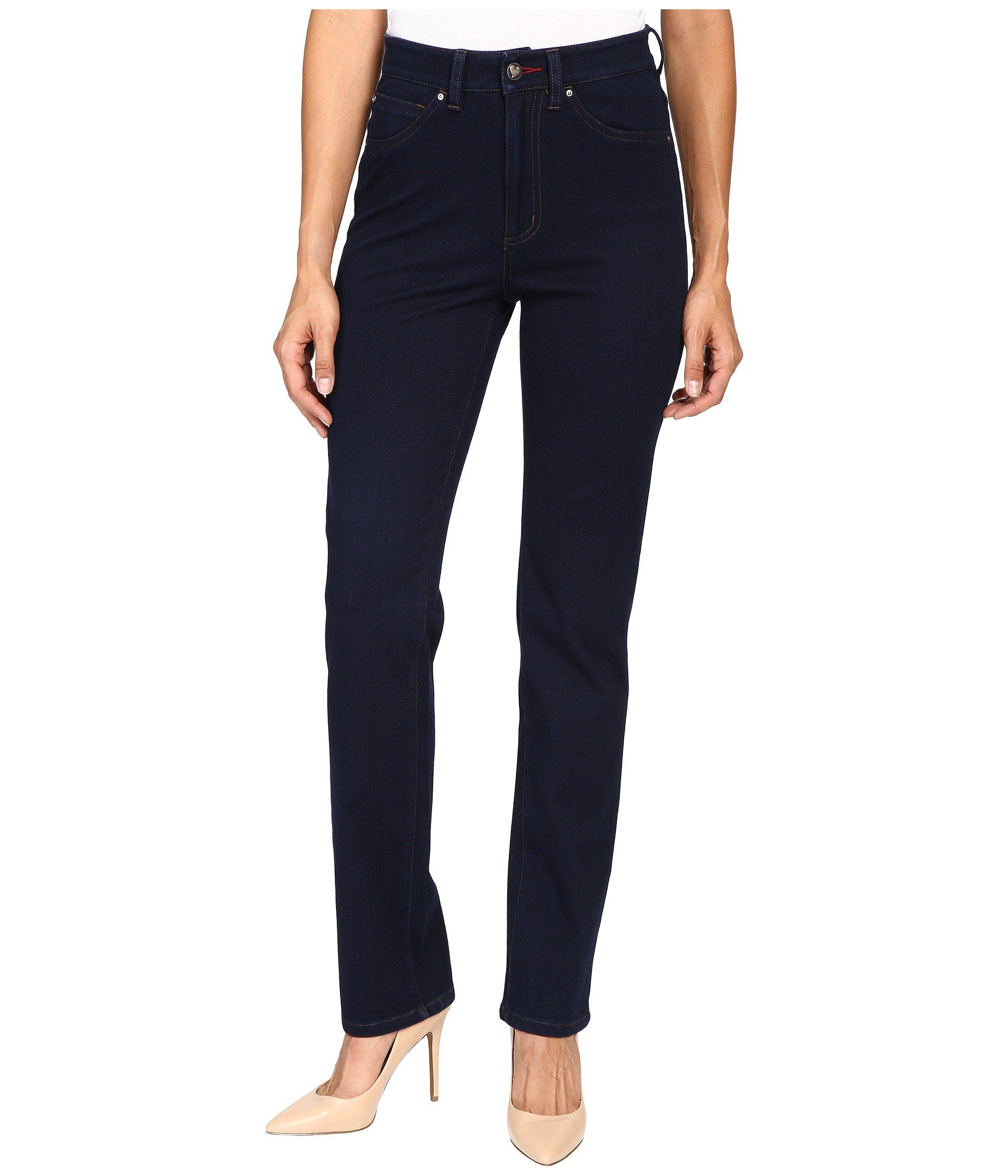 FDJ French Dressing Jeans Women's Suzanne Straight Leg/Love Denim in Indigo Indigo Jeans
