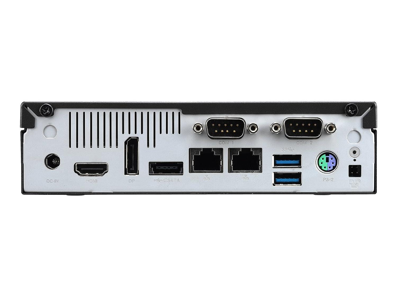 Shuttle XPС slim DH110 PC/estación de trabajo barebone Intel® H110 LGA 1151 (Socket H4) 1.3L sized PC Black - Barebón (Intel® H110, LGA 1151 (Socket H4), ...