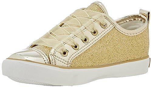 Conguitos Zapatillas Glitter - Zapatillas para niñas, Color Dorado, Talla 25: Amazon.es: Zapatos y complementos