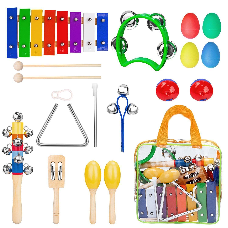 Instrumentos Musicales para Niños Xilofono Ninos Infantil Banda de Ritmo de Juguetes