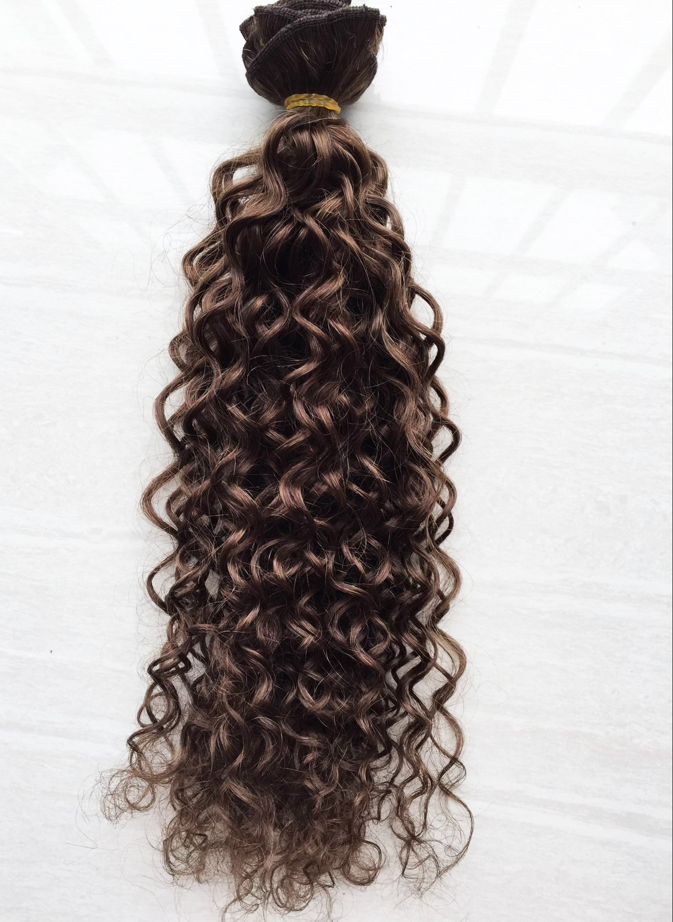 Amazon Deep Curl Deep Wave Brown Brazilian Clip In Hair