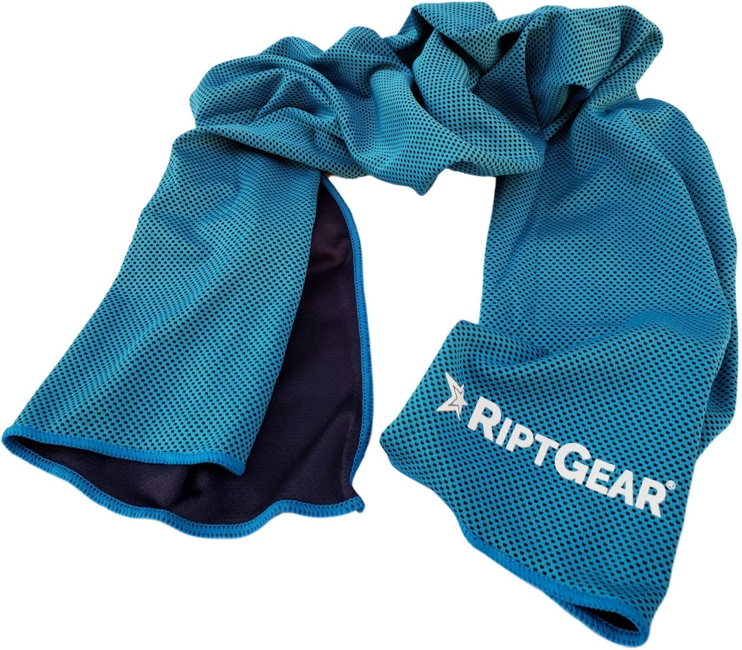 RiptGear Instant Cooling Towel - Ultra Thin Lightweight Design for Fitness and Exercise, Gym, Yoga, Sports, Pilates, Travel, Running and Hiking