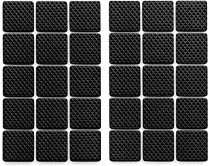 Furniture Pads Self Adhesive Non Slip Hardwood Floor Protector Black 1