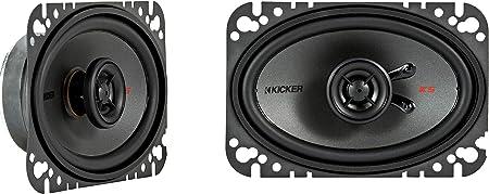 Kicker 44ksc4604 4x6 Zoll Coax Ls Schwarz Audio Hifi
