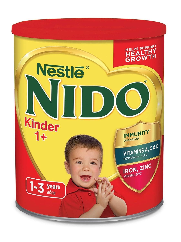 Nestle Nido Kinder 1+ Powdered Milk Beverage 3.52 lb. Canister (Pack of 3)
