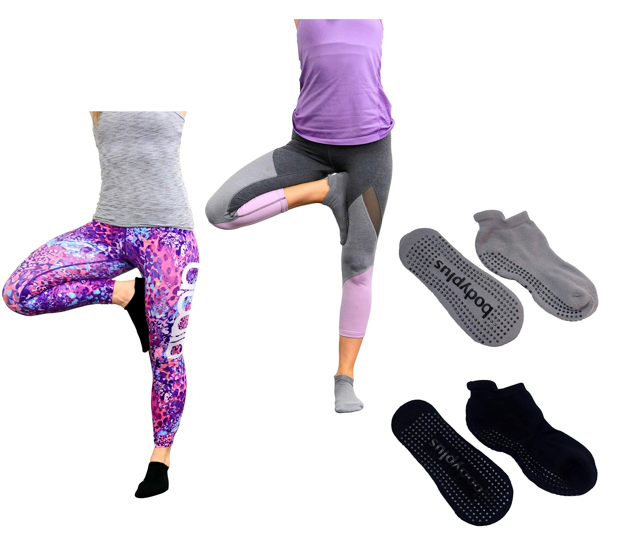 f157d86326964 Pretmanns Pilates Yoga Grip Socks – Non Slip Sticky Barre Yoga Socks for  Women – 2