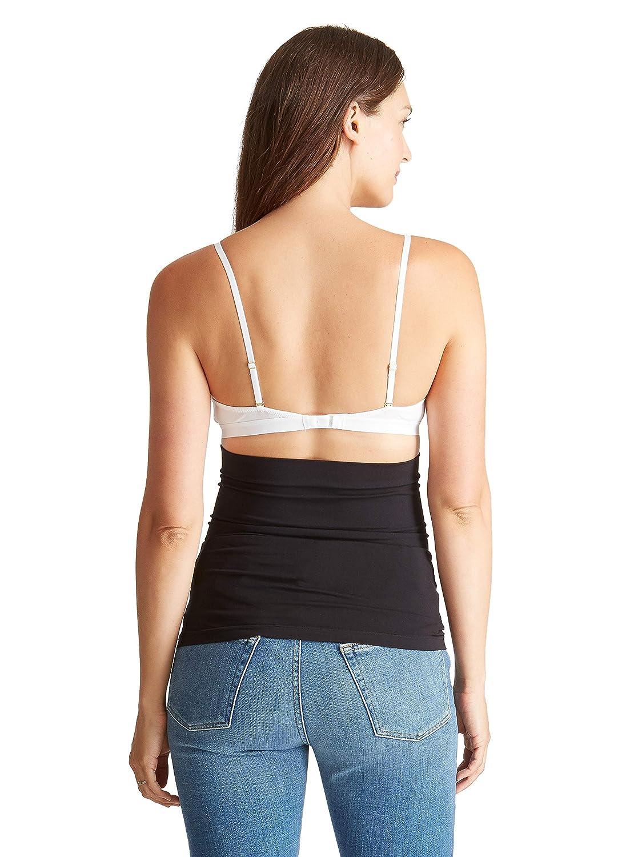 0db1a50f9eb22 Amazon.com: Ingrid & Isabel Women's Maternity Everyday Bellaband White:  Clothing