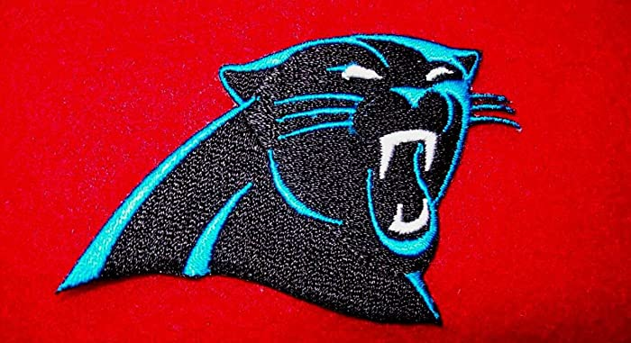 finest selection 66d8a 4dfaf Amazon.com: CAROLINA PANTHERS IRON ON patches patch FOOTBALL ...