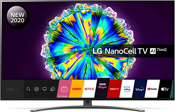 LG 49NANO866NA 49 Inch UHD 4K HDR Smart NanoCell LED TV with Freeview HD/Freesat HD - Light Black colour (2020 Model) with Alexa built-in and Magic Remote included [Energy Class A]: Amazon.co.uk: TV