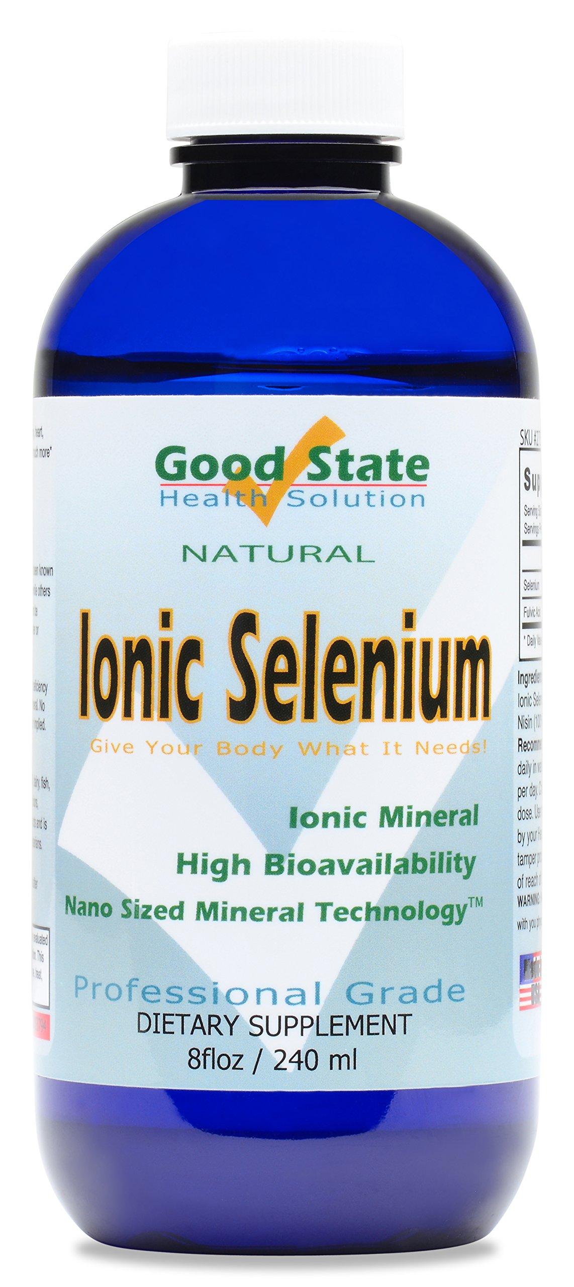 Good State Liquid Ionic Selenium (96 servings at 400 mcg elemental - 8 fl oz)
