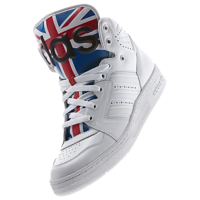 official photos 56a2a 52322 Amazon.com   adidas Originals ObyO JS Jeremy Scott Instinct Hi Union Jack  D65204 Men s Shoes (Size 5)   Shoes