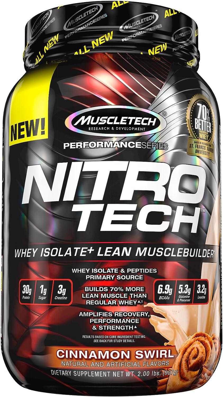 Muscletech Performance Series Nitro-Tech Cinnamon Swirl - 900 gr