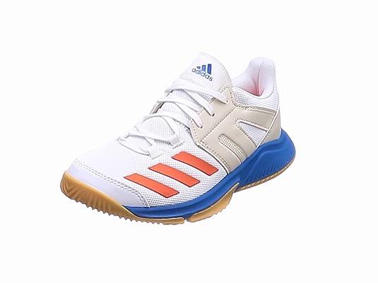 premium selection 4c7b7 39ff3 Adidas Essence, Zapatillas de Balonmano para Niños, Blanco  (Ftwbla Rojsol Azubri
