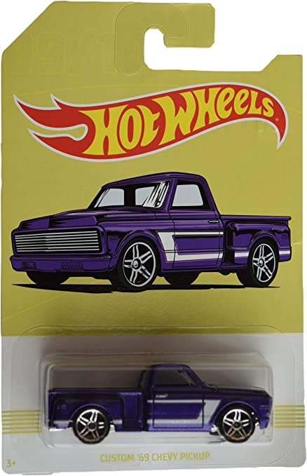 Hot Wheels Chevrolet Trucks 100 Years Custom /'69 Chevy Pickup