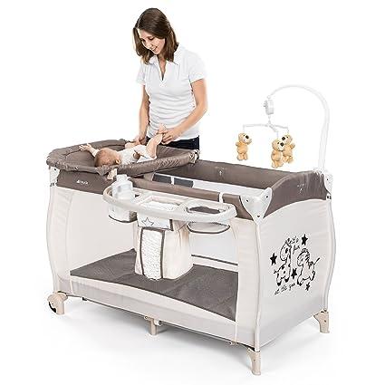 52d86a8ad HAUCK – Cuna de viaje para bebé BabyCenter Zoo – Incluye elevador para  recién nacidos