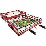 Blitzzauber24 Table Multi-Jeux 4 en 1 Baby-Foot Tennis de Table ... b4ba3bcdcbc6