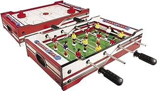 Carromco Table Multi-Jeux 2 en 1 Flip XM, 06002, Red/White CAYCT #Carromco