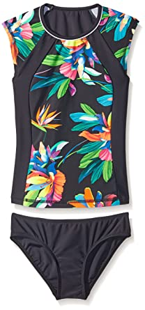 155a03066b Seafolly Multicolor Swimsuit Children Tropical Fever Surf Set:  Amazon.co.uk: Clothing